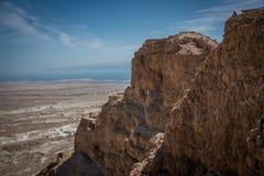 masada Израиля Стоковое Фото
