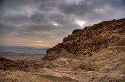 masada крепости стоковое изображение