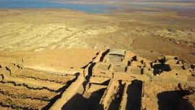masada Старое городище в южном районе Израиля Национальный парк Masada в области мертвого моря Израиля стоковое изображение