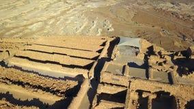 masada Старое городище в южном районе Израиля Национальный парк Masada в области мертвого моря Израиля стоковые фотографии rf