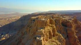 masada Старое городище в южном районе Израиля Национальный парк Masada в области мертвого моря Израиля стоковые фото