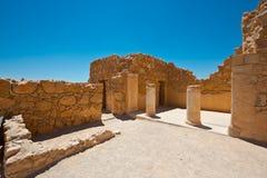 Masada 免版税库存照片