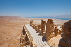 Masada Foto de Stock Royalty Free