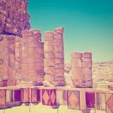 Masada Arkivfoto