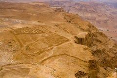 Masada - accampamento romano Fotografia Stock Libera da Diritti
