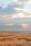 Masada ancient fort Stock Images