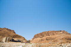 Masada is an ancient fortification Royalty Free Stock Photos