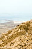Masada ancient fortress Dead Sea Israel Royalty Free Stock Images