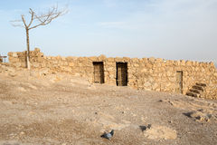 Masada archeology Royalty Free Stock Images