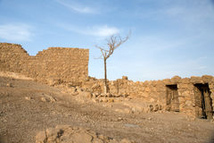 Masada archeology Royalty Free Stock Image