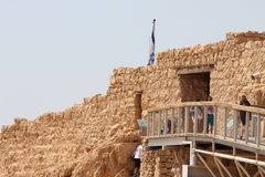 Masada Castle Ruin - Israel Stock Photography
