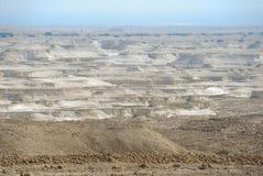 Masada Desert. View of desert from Masada, Israel Stock Photo