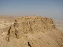 Masada. Deserto di Judean Fotografie Stock