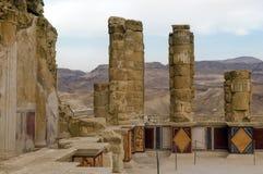 Masada, Dode Overzees, Israël Royalty-vrije Stock Fotografie