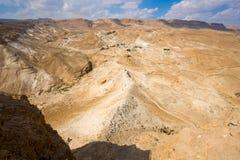 Masada em Israel Foto de Stock