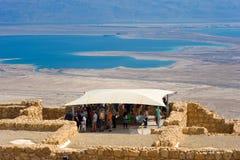 Masada en Israel imágenes de archivo libres de regalías