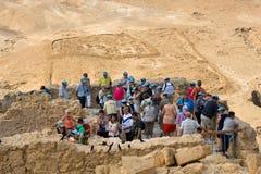 Masada en Israel imagen de archivo libre de regalías