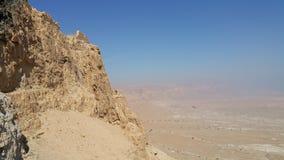 Masada fästning Royaltyfri Bild