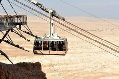 Masada fästning Israel arkivbild