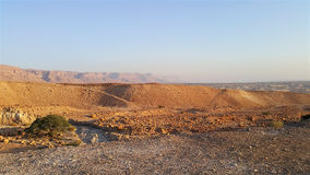 Masada fästning judean öken Royaltyfri Bild