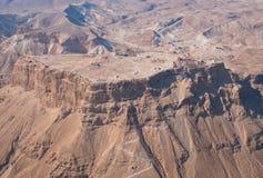 Masada Festung lizenzfreies stockbild
