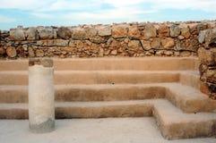 Masada forteca Izrael Zdjęcia Royalty Free