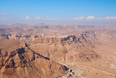 Masada fortress Stock Photography