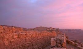 Masada fortress Stock Photo