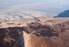 Masada fortress Stock Image