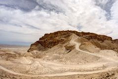 Masada fortress Royalty Free Stock Photos