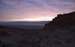 Masada fortress Stock Photos