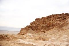 Masada fortress Royalty Free Stock Photo