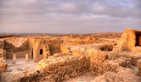 Masada fortress Royalty Free Stock Image