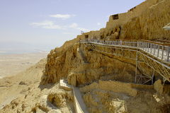 Masada fortress Stock Photos