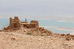 Masada Fortress Ruin - Israel Stock Photography