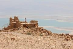 Masada Fortress Ruin - Israel Stock Photography