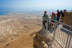 Masada i Israel Royaltyfri Bild