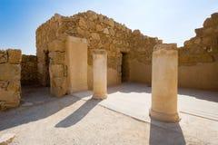 Masada i Israel Royaltyfria Bilder