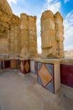 Masada i Israel Arkivbilder