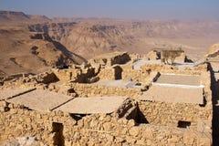 Masada Israël Royalty-vrije Stock Foto's