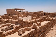Masada, Israël royalty-vrije stock afbeeldingen