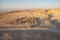 Masada Israel stockbilder