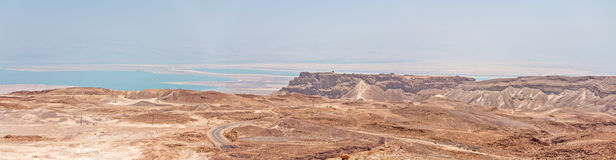 Masada in Israel Stock Image