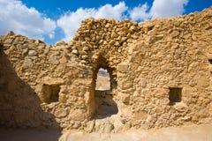 Masada in Israel Lizenzfreie Stockfotos