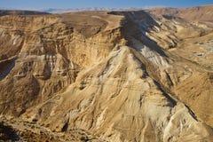 masada israel fotografia stock