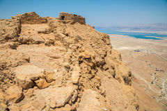 Masada in Israel Royalty Free Stock Image