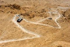 Masada in Israel Royalty Free Stock Photography