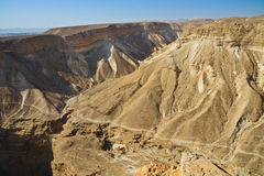 Masada, Israel. Masada, site of the final accords of the First Jewish-Roman War known as the Siege of Masada by troops of the Roman Empire on Sicarii Jewish Stock Photo