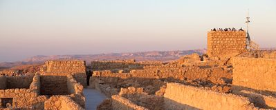 Masada Israel Stock Photography