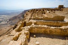 Masada in Israele Fotografie Stock Libere da Diritti